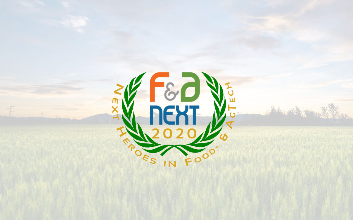 F&A Next Presents Eight 'Next Heroes in Food- & Agtech 2020'